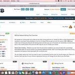 Bitclubマイニング管理画面